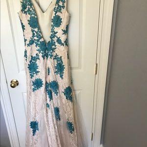 Floor length gown